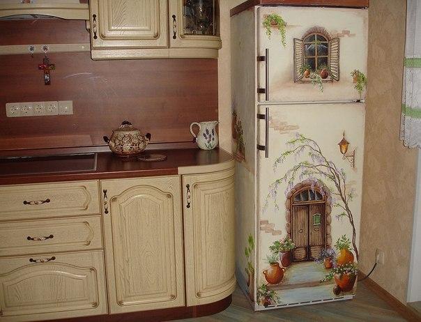 Декор на кухню в ниши